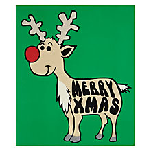 Buy Portfolio Rudolph Christmas Card Online at johnlewis.com
