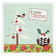 Buy Metropolis World Wide Scrummy Christmas Card Online at johnlewis.com