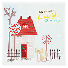 Buy Metropolis World Wide Hope You Have a Wonderful Christmas Card Online at johnlewis.com