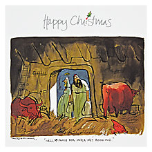 Buy Wild Card Company Internet Booking Christmas Card Online at johnlewis.com