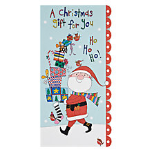 Buy Rachel Ellen Designs Santa And Presents Christmas Card Online at johnlewis.com