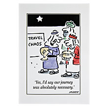 Buy Woodmansterne Three Wise Men Travel Chaos Christmas Card Online at johnlewis.com