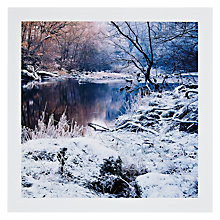 Buy PJF Photography Hard Frost Christmas Card Online at johnlewis.com