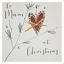Buy Belly Button Designs To Mum at Christmas Card Online at johnlewis.com