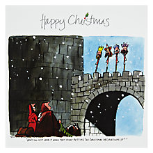 Buy Wild Card Company Decorations Christmas Card Online at johnlewis.com