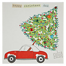 Buy Belly Button Designs Happy Christmas Dad Card Online at johnlewis.com