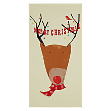 Buy Art File Christmas Reindeer Card Online at johnlewis.com