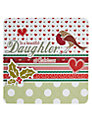 Laura Darrington Beautiful Daughter Christmas Card