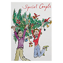 Buy Woodmansterne Special Couple Christmas Card Online at johnlewis.com