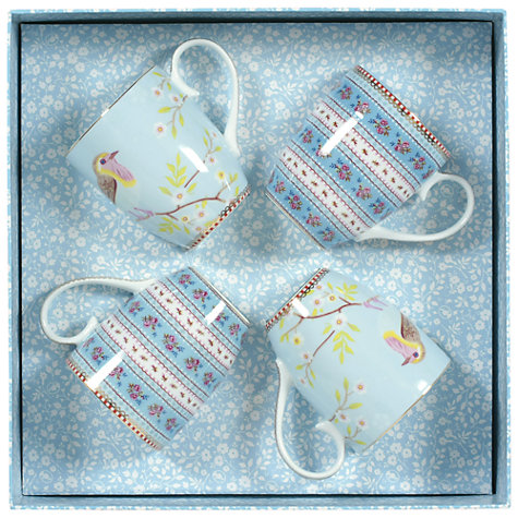 Buy PiP Studio Bird and Ribbon Mugs, Set of 4 Online at johnlewis.com