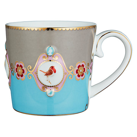 Buy PiP Studio Love Birds Mugs, 0.25L, Set of 3 Online at johnlewis.com
