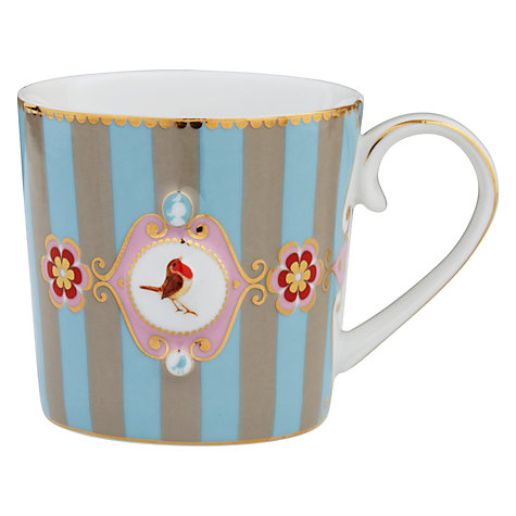 Buy PiP Studio Love Birds Mug, 0.15L, Blue Online at johnlewis.com