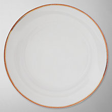 Buy PiP Studio Charger Plate, Dia.32cm, White Online at johnlewis.com