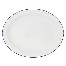 Buy John Lewis Restoration Oval Serving Platter Online at johnlewis.com