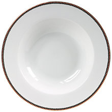 Buy PiP Studio Floral Whites Pasta Plate Online at johnlewis.com