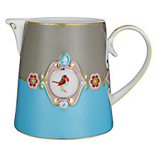Buy PiP Studio Love Birds Jug, 0.9L, Blue Online at johnlewis.com