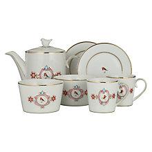 Buy PiP Studio Love Birds Tea Set, Set of 7 Online at johnlewis.com
