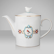 Buy PiP Studio Love Birds Teapot, 1.25L, White Online at johnlewis.com