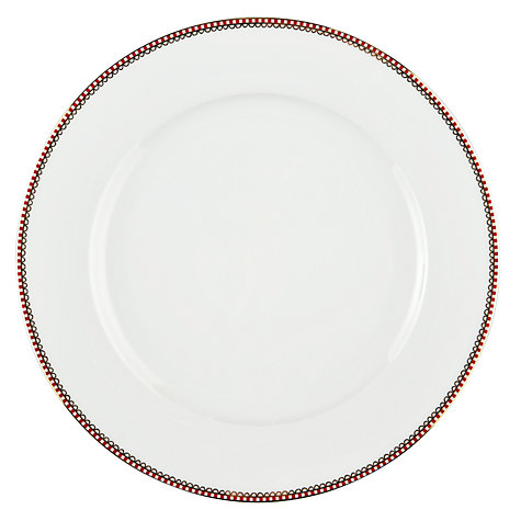 Buy PiP Studio Floral Whites Dinner Plate Online at johnlewis.com