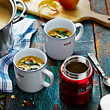 Buy Celeriac and Apple Soup with Hazelnuts and Crispy Sage by Anna Jones Online at johnlewis.com