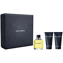 Buy Dolce & Gabbana Pour Homme Eau de Toilette Gift Set, 75ml Online at johnlewis.com