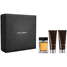 Buy Dolce & Gabbana The One for Men Eau de Toilette Fragrance Set, 50ml Online at johnlewis.com