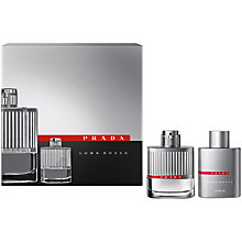 Buy Prada Luna Rossa Eau de Toilette for Men Fragrance Gift Set,  50ml Online at johnlewis.com