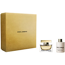 Buy Dolce & Gabbana The One Eau de Parfum Gift Set, 50ml Online at johnlewis.com