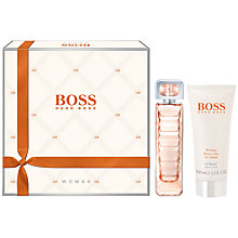 Buy Boss Orange Woman Eau de Toilette Fragrance Set, 50ml Online at johnlewis.com