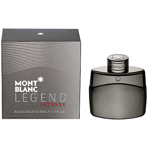 Buy Montblanc Legend Intense Eau de Toilette, 50ml Online at johnlewis.com