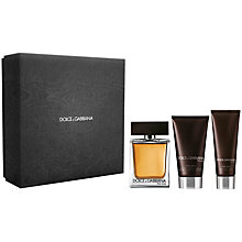 Buy Dolce & Gabbana The One for Men Eau de Toilette Gift Set, 100ml Online at johnlewis.com