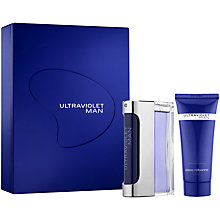 Buy Paco Rabanne Ultraviolet Man Eau de Toilette Fragrance Set, 50ml Online at johnlewis.com