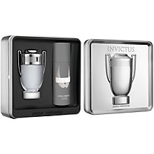 Buy Paco Rabanne Invictus Eau de Toilette Fragrance Set, 100ml Online at johnlewis.com