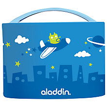 Buy Aladdin Bento Kids Lunch Box, 0.6L, Blue Online at johnlewis.com