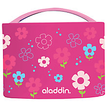 Buy Aladdin Bento Kids Lunch Box, 0.6L, Pink Online at johnlewis.com