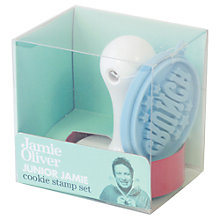 Buy Jamie Oliver Cookie Stamp Set Online at johnlewis.com