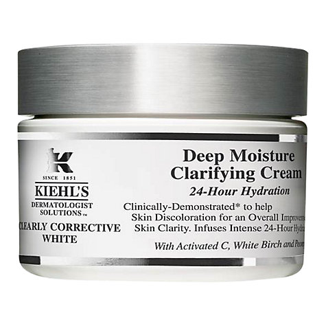 Buy Kiehl's Clearly Corrective White Deep Moisture Clarifying Cream Online at johnlewis.com