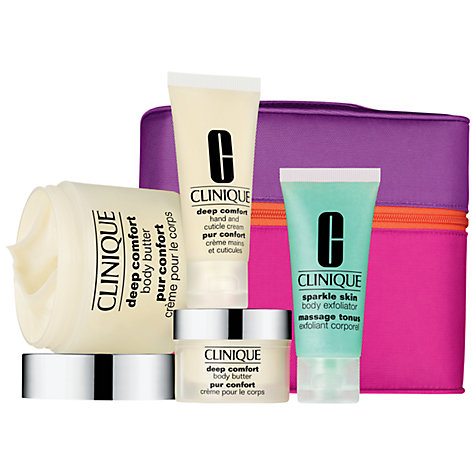 Buy Clinique Softer, Smoother Bath & Body Gift Set Online at johnlewis.com