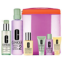 Buy Clinique Great Skin Home & Away Skincare Set Online at johnlewis.com