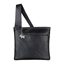 Buy Radley Pocket Large Leather Across Body Bag, Brown Online at johnlewis.com