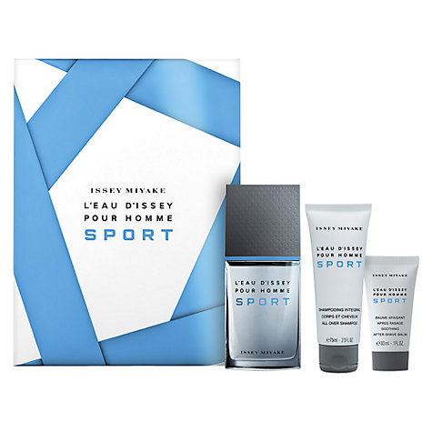 Buy Issey Miyake L'Eau d'Issey Pour Homme Sport Gift Set, 50ml Online at johnlewis.com