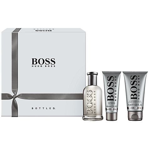Buy Hugo Boss Bottled Eau de Toilette Fragrance Set, 100ml Online at johnlewis.com