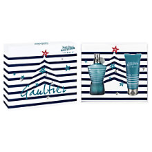 Buy Jean Paul Gaultier Le Male Gift Set, 75ml Online at johnlewis.com