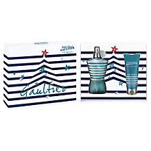 Buy Jean Paul Gaultier Le Male Gift Set, 125ml Online at johnlewis.com
