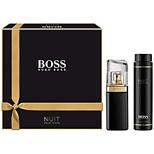 Buy Boss Nuit Eau de Parfum Fragrance Set, 30ml Online at johnlewis.com