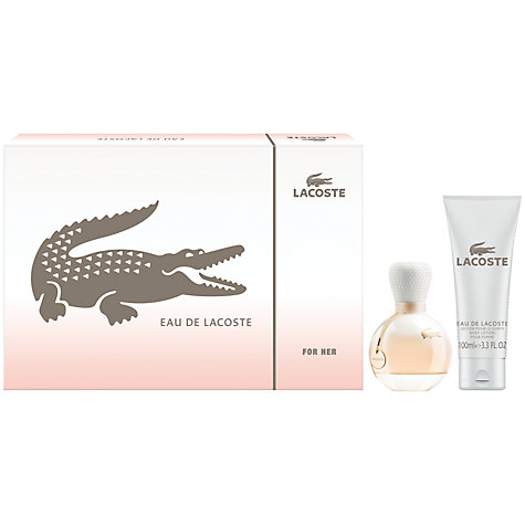 Buy Lacoste Eau De Lacoste for Women Gift Set, 50ml Online at johnlewis.com