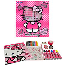 Buy Hello Kitty Colouring Set Online at johnlewis.com
