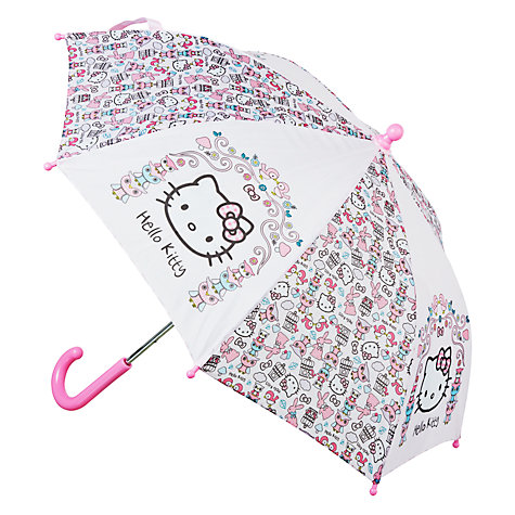Buy Hello Kitty Woodland Animals Umbrella Online at johnlewis.com