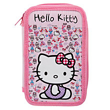 Buy Hello Kitty Woodland Animals Tier Pencil Case Online at johnlewis.com