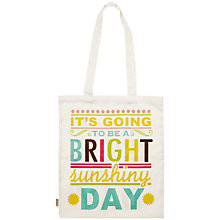 Buy Caroline Gardner Say So Canvas Bag Online at johnlewis.com
